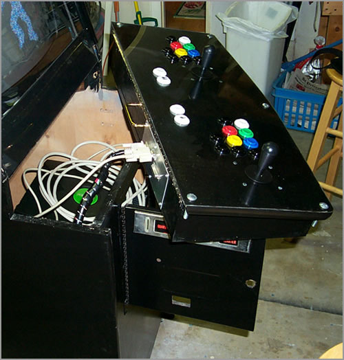christopher xbox dc ps1 ps2 jamma cabinet